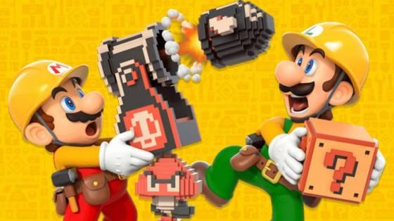 Super Mario Maker 2 infódoboz
