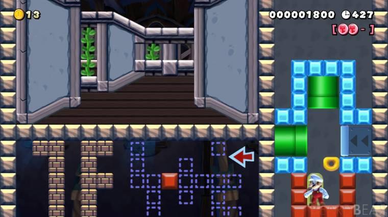 Super Mario Maker 2 - már egy 3D-s kalandjáték is készült benne bevezetőkép