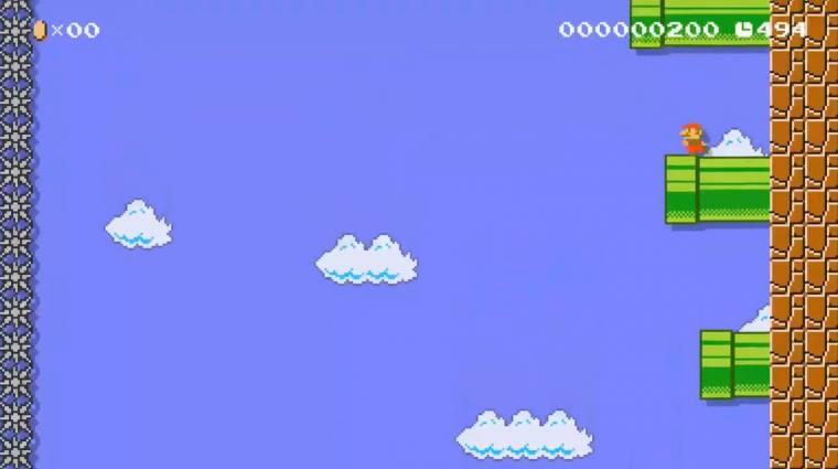 Napi büntetés: a Super Mario első pályája függőlegesben idegesítő csak igazán! bevezetőkép