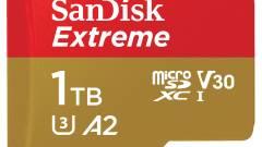 Új csúcsokon a microSD kártyák kép