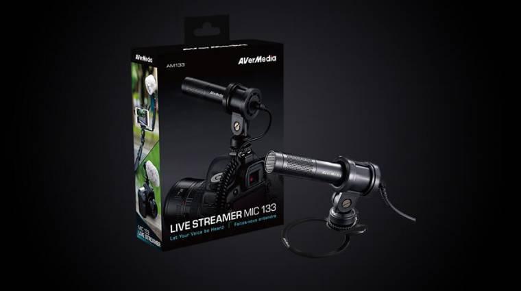 AVerMedia Live Streamer MIC 133 - találd meg a hangod bevezetőkép