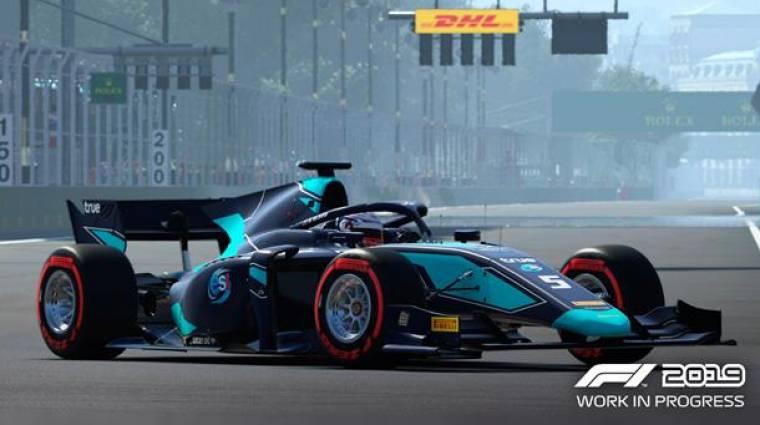 F1 2019 - bekerül a Formula-2 is bevezetőkép