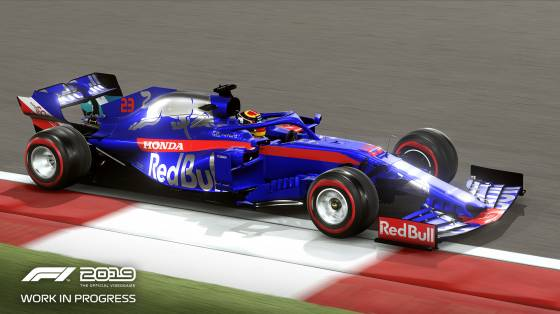 F1 2019 infódoboz