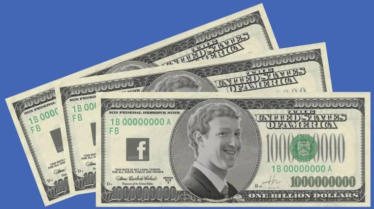 Heteken belül jöhet a Facebook saját pénze kép