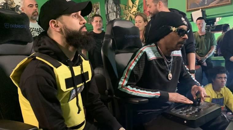 Snoop Dogg szervezett egy Mortal Kombat 11 bajnokságot, és majdnem meg is nyerte bevezetőkép