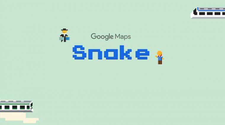 Google Maps - most utazós Snake-et játszhatunk bevezetőkép