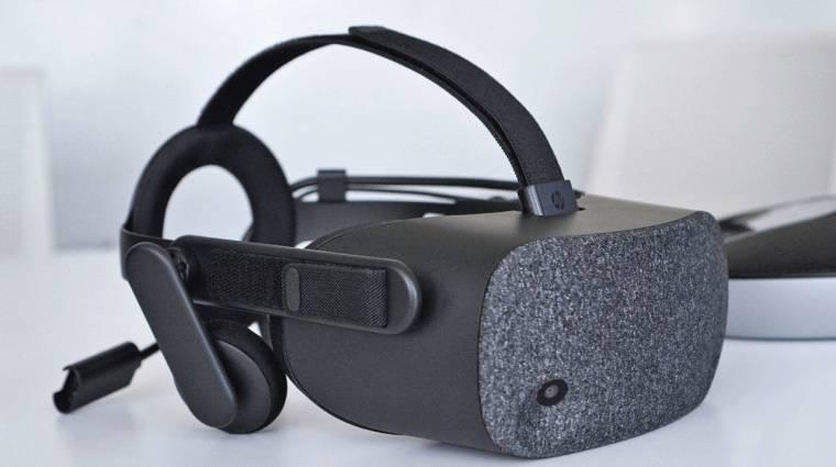 Menő VR headsetet mutatott be a HP kép