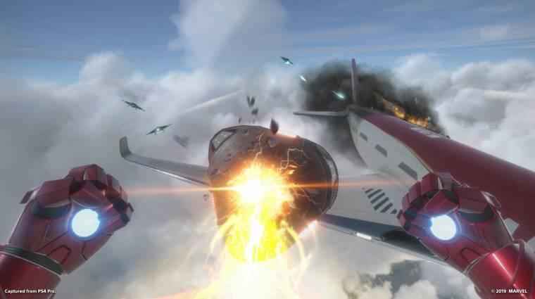Demót kaphat a Marvel's Iron Man VR bevezetőkép