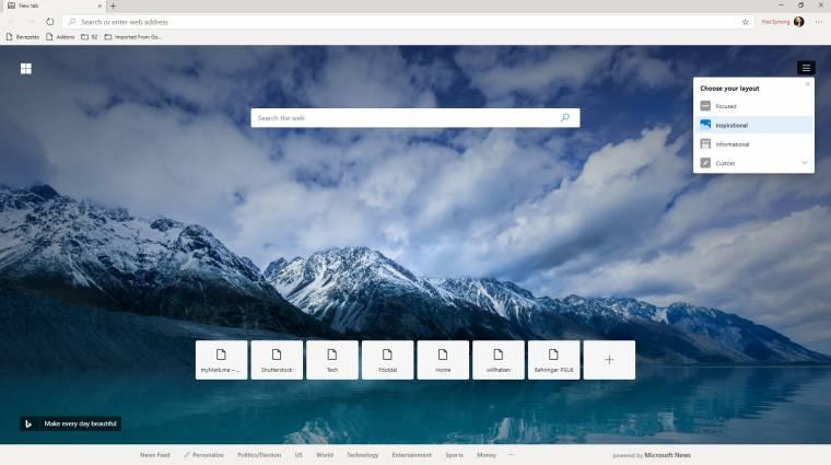 Kipróbáltuk a Chromium-alapú Microsoft Edge böngészőt kép