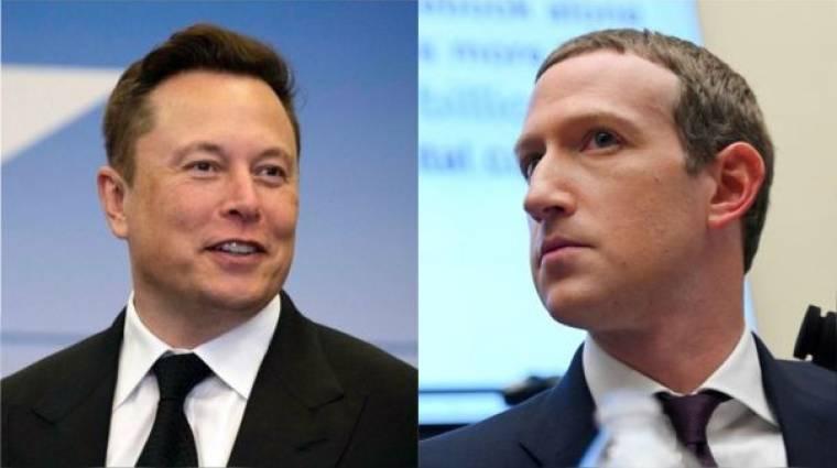 Itt van Elon Musk és Mark Zuckerberg évek óta tartó viszályának legújabb beszólása kép