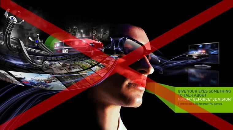 Az NVIDIA leépíti a GeForce 3D Vision-t kép