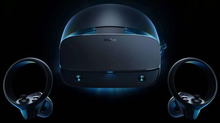 Rift S: megérkezett a legújabb Oculus VR headset kép