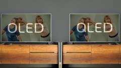 Fellángolt az OLED-QLED cicaharc kép