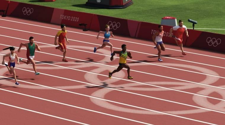 Videón a 2020-as tokiói olimpia videojátéka bevezetőkép