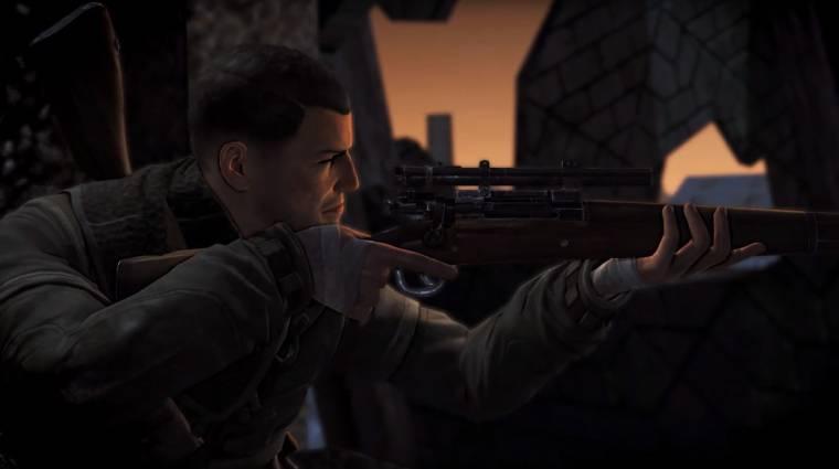 Sniper Elite V2 Remastered - videón a felújított játék bevezetőkép