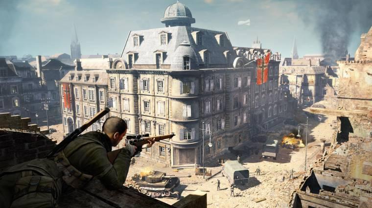 Sniper Elite - Switch portok, VR-játék és folytatás is készül bevezetőkép