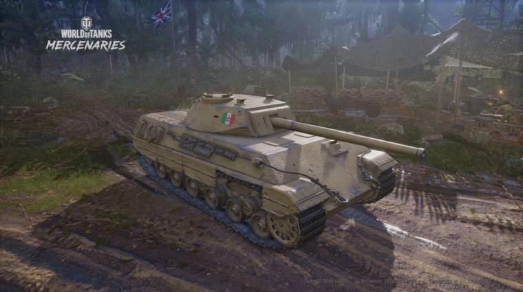 World of Tanks: Mercenaries - új nemzettel bővül és még a Holdon is csatázhatunk bevezetőkép
