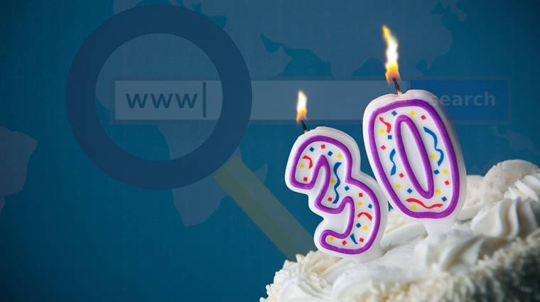Ma ünnepli 30. születésnapját a világháló kép