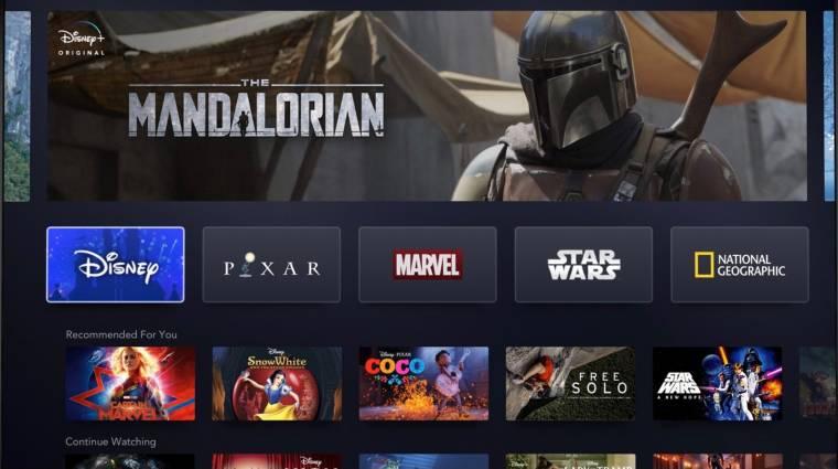 Disney+ - ezeken az eszközökön fut majd a streaming szolgáltatás az első naptól bevezetőkép