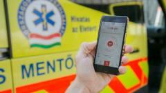ÉletMentő app az OMSZ-től és a Vodafone-tól kép