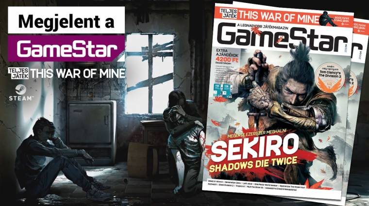 Nindzsák és háborúban rekedt civilek a 2019/04-es GameStarban bevezetőkép