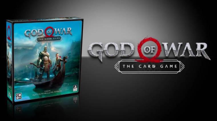 God of War - jön a hivatalos kártyajáték, magyarul is játszhatjuk bevezetőkép