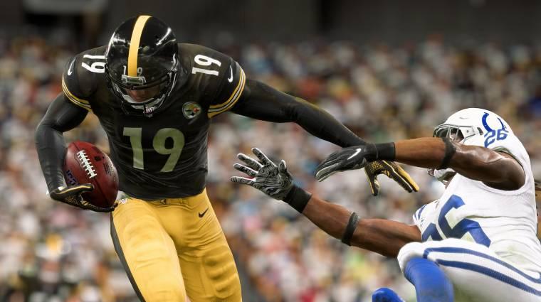 Madden NFL 20 mérkőzéseket közvetít egy nagy amerikai sportcsatorna bevezetőkép