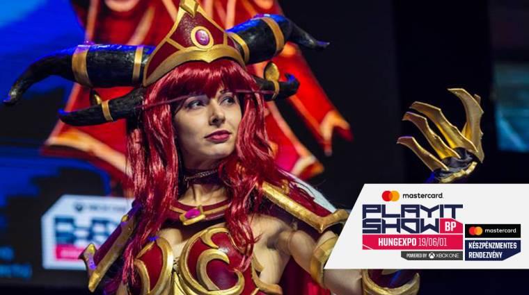 Ha érdekel a cosplay világa, irány a Cosplay Village a budapesti PlayIT-en! bevezetőkép