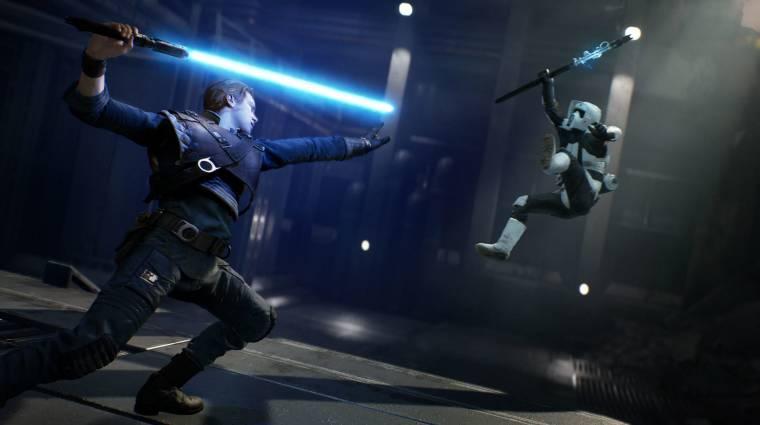 Ilyen, amikor valaki fénykarddal és kesztyűvel irányítja a Star Wars Jedi: Fallen Ordert bevezetőkép