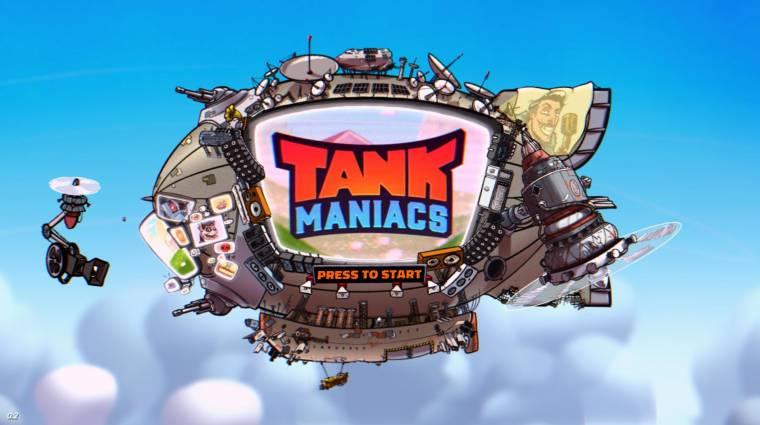 Ingyen kipróbálható a magyar fejlesztésű Tank Maniacs bevezetőkép