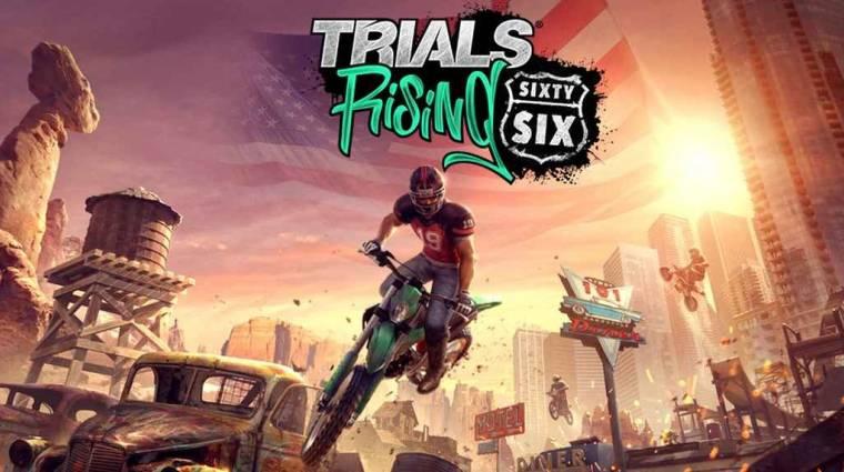 Trials Rising - a Sixty-Six DLC a legendás 66-os útra visz minket bevezetőkép