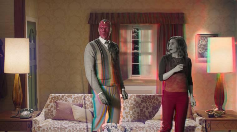 Karácsonyra új trailert kapott a WandaVision bevezetőkép