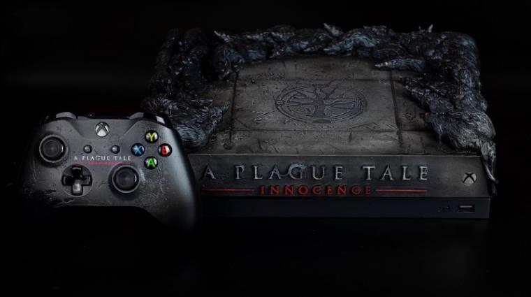 Patkányokkal díszített Xbox One X-et sorsolnak ki az A Plague Tale: Innocence fejlesztői bevezetőkép