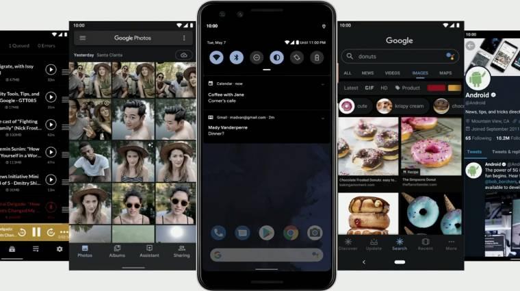 Bemutatkozott az Android Q: kényelmes lesz és védi az adatainkat kép