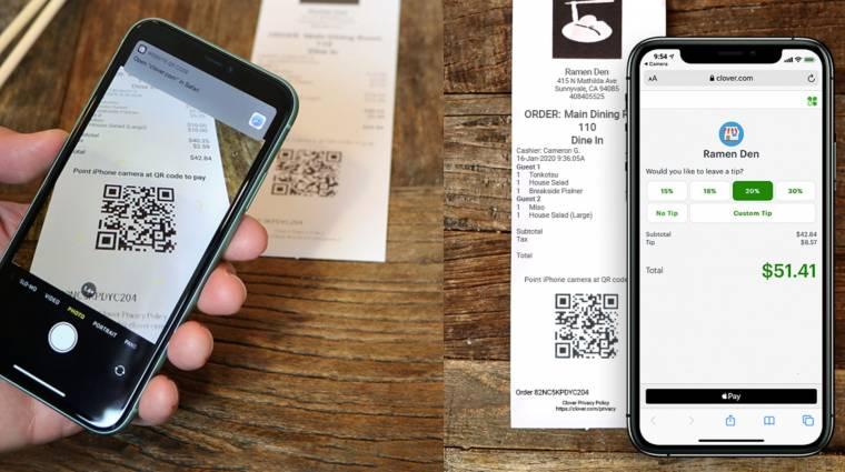 Biztonságosabbá tenné a QR-kódra épülő Apple Pay-tranzakciókat az Apple kép