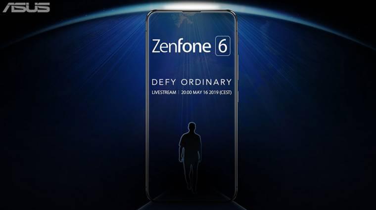 Rejtett szelfikamerával, notch nélkül jöhet az ASUS Zenfone 6 kép