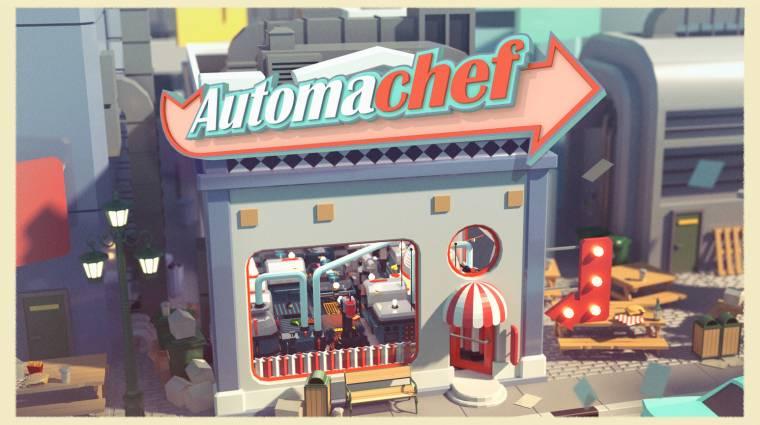 Automachef - amikor a főzés keveredik a programozással bevezetőkép