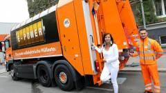 Bécsben már a kukásautó is elektromos kép