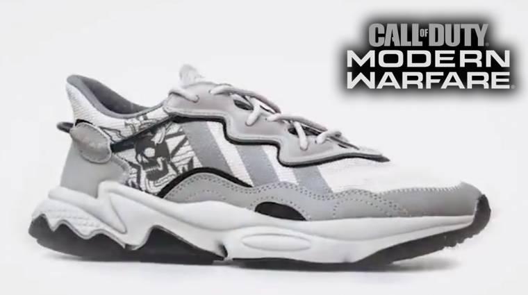 Különleges Call of Duty mintájú cipővel készül az Adidas bevezetőkép