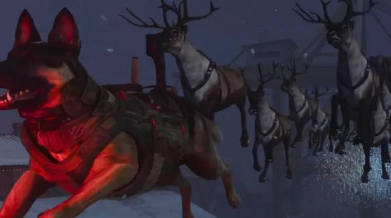 Egy kis karácsonyi hangulat azért a Call of Duty: Modern Warfare-be is került bevezetőkép
