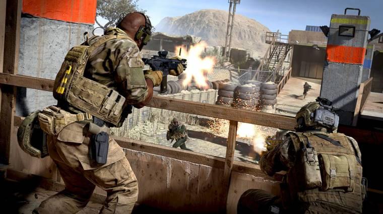 Call of Duty: Modern Warfare - néhány fegyver pontosabb, ha nem guggolva lövünk velük bevezetőkép