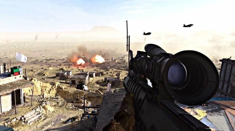 Újra a Call of Duty: Modern Warfare lett a legkelendőbb játék bevezetőkép