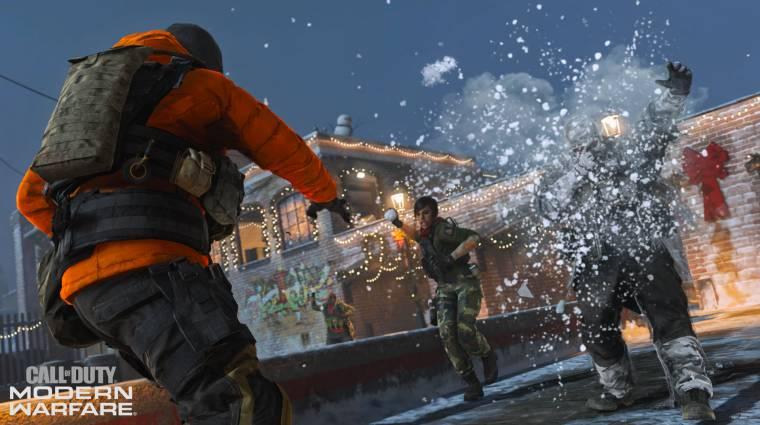 A hógolyócsata jelenleg a legjobb dolog a Call of Duty: Modern Warfare-ben bevezetőkép