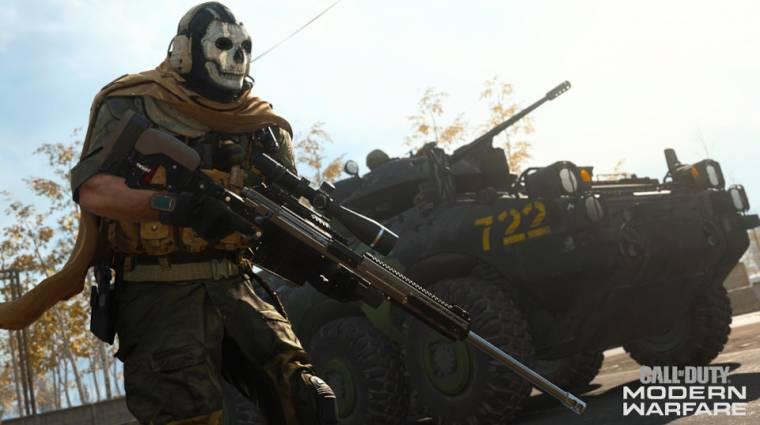 A Modern Warfare fejlesztői is érzik, hogy a 100 GB-os frissítés kicsit sok bevezetőkép