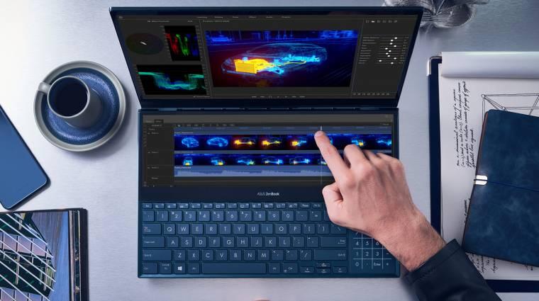 Két 4K kijelzős laptoppal ünnepel az ASUS kép