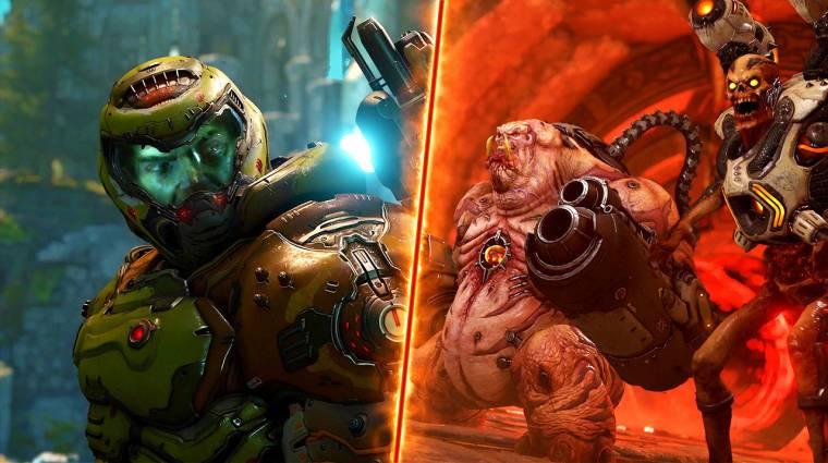 Doom Eternal - a QuakeConon mutatják meg a Battlemode-ot bevezetőkép