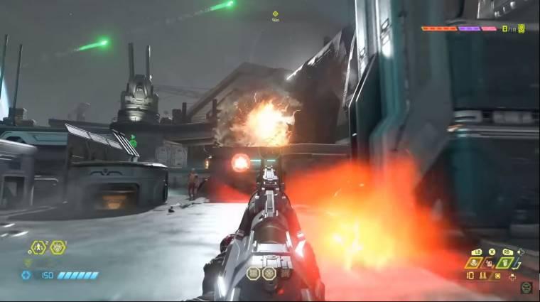 Így idézi meg az FPS játékok hőskorát a Doom Eternal bevezetőkép