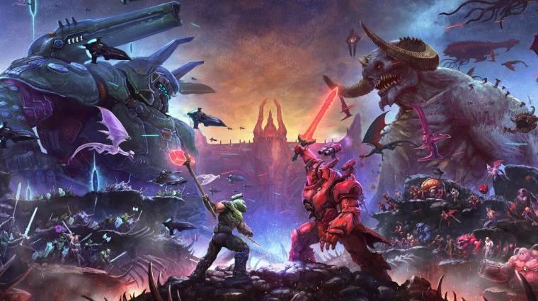 Elég brutális arcnak tűnik a Doom Eternal következő főellensége bevezetőkép