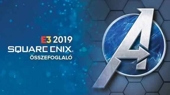E3 2019 - Square Enix sajtókonferencia összefoglaló kép