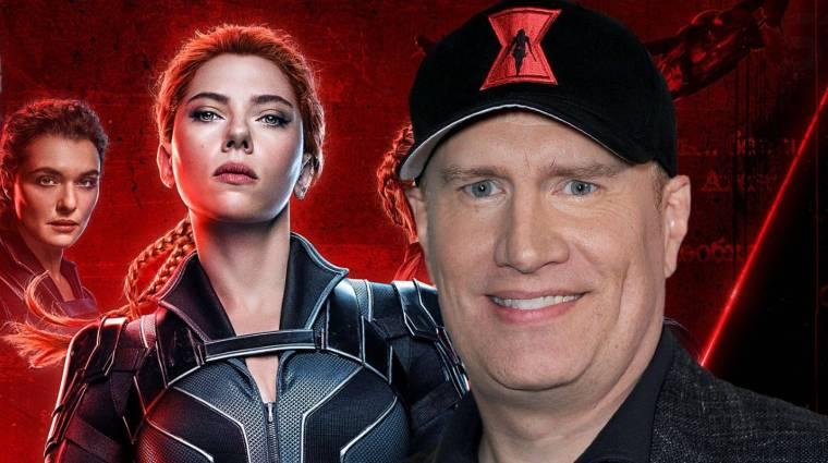 Elvileg Kevin Feige is nagyon dühös a Fekete Özvegy botrány miatt, Scarlett Johansson 50 milliót bukhatott bevezetőkép